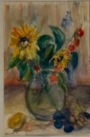 Márffy Ödön (1878 - 1959): Virágok és gyümölcsök