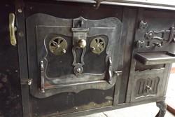 Ritka Antik Népi 100 éves Sváb Sparhelt kályha Szép Míves főző masina tűzhely