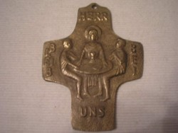 Vallási szimbólum medál nagyméretű 8 cm ritkaság