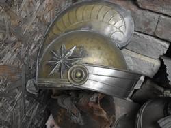 Ritka Réz Római sisak Mozi filmes 1940 középkori lovagi katonai sisak 1db