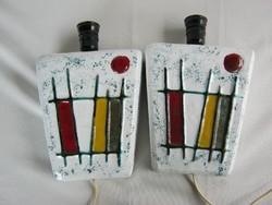 Retro kerámia lámpa pár falilámpa
