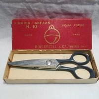 Pinking-Shears francia jelzett olló érdekesség dobozában