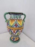 Art deco Olasz keramia vaza