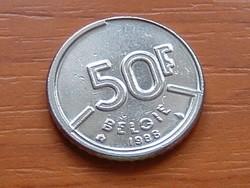 BELGIUM BELGIE 50 FRANK 1988 #