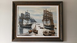 Bánfalvy Ákos festmény eladó
