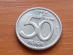 BELGIUM BELGIE 50 FRANK 1994  #
