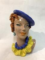 Komlós Art Deco női fej (3269)