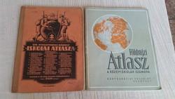 Dr Kogutowicz Károly  Iskolai atlasza eladó!1932 kiadású, és Iskolai Atlasz most