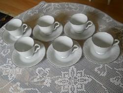 Teás csészék - aljjal