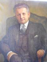 Kunffy Lajos Előkerült muzeális festménye.Eredetiség igazolással.Certifikációval.