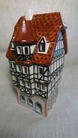 2004 UNIKAT LEYK LICHTHÄUSER nyomott jelzésű porcelán ház.