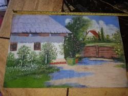 Szép kis pasztell festmény