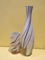 Aquincumi aquazur festésű vázák.