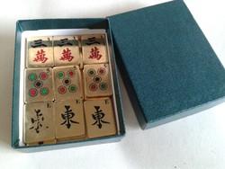 Mahjong játék, hiányos készlet