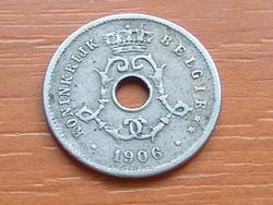 BELGIUM BELGIE 5 CENTIMES 1906   #