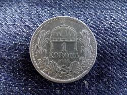 Ezüst 1 Korona 1893 KB (Körmöcbánya)/id 9149/