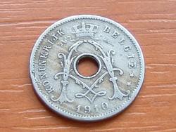 BELGIUM BELGIE 5 CENTIMES 1910   #