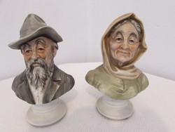 Capodimonte porcelan figurak