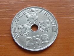 BELGIUM BELGIQUE - BELGIE 25 CENTIMES 1938   #