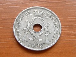 BELGIUM BELGIQUE 25 CENTIMES 1923   #