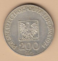 Ezüst 200 Zloty T2