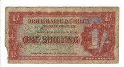 1 shilling Anglia Katonai