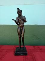 Chiparus csodálatos bronz szobra, 50 cm