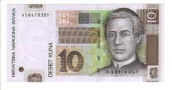 10 kuna 2001 Horvátország UNC