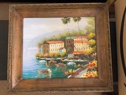 Mediterrán festmény