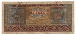 5000 kuna 1943 Horvátország 1.