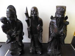 Large hand carved chinese old wise men!