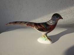 Kerámia madár - Bodrogkeresztúri  kerámia fácán - 32 cm hosszú