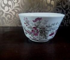 Antik vastagfalu kézi festésű teás csésze  /  2411