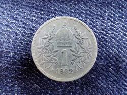 Ritkább Ezüst 1 Corona 1893/id 9158/