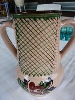 Kétfülü régi kerámia váza