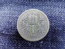 Ritkább ezüst 1 Corona 1896/id 9157/