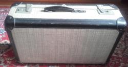 Eredeti  antik KINDELBRÜCK  VEB  KOFFERFABRIK  bőrönd,koffer