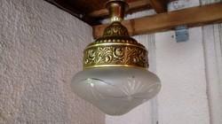 """Antik réz függő lámpa, csillár eladó """"extra díszes"""""""