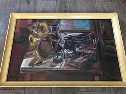 Göldner Tibor - Horgász asztal