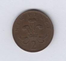 Angol 2 Penny 1977 (0070)
