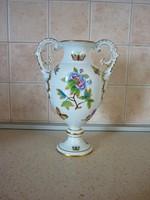 Herendi Viktória barokk váza! HIBÁTLAN