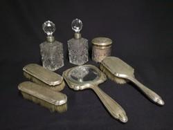 Ezüst pipere készlet XIX. sz. vége