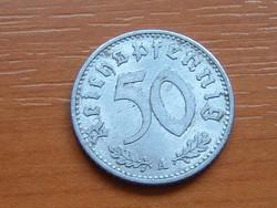 NÉMET BIRODALOM 50 PFENNIG 1935 A ALU. #