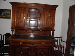 Ónémet tálalószekrény 1880-1890 körül.