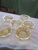 Kompotos   tányér 6 darab régi szép