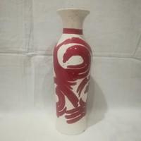Retro iparművész kerámia váza 31,5 cm