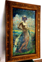 Márk Lajos (1867- 1940)  - Impresszionsita Akt
