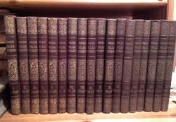 Antik könyv  -  TOLNAI  ÚJ VILÁGLEXIKONA   I - XVIII.  kötet