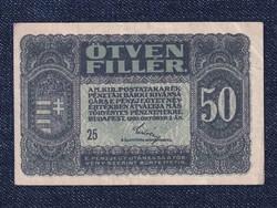 50 fillér 1920/id 9659/