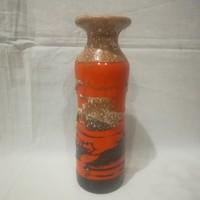 Retro iparművész kerámia váza 23 cm